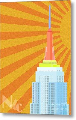 Sunshine City Metal Print