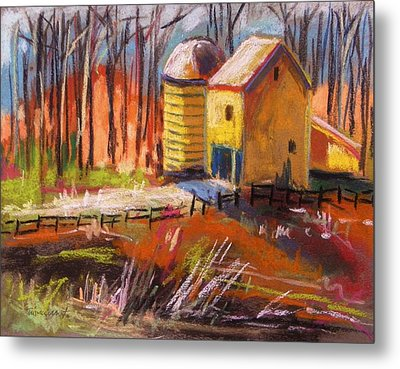 Sunshine Farm Metal Print by John Williams
