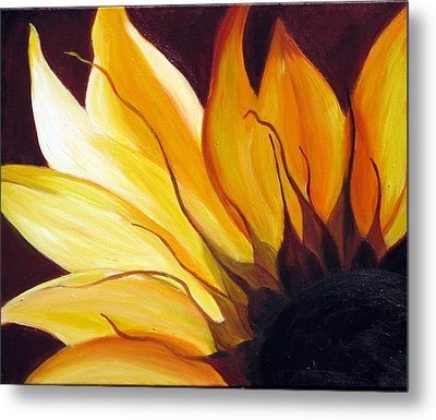 Metal Print featuring the painting Sunshine by Sheri  Chakamian