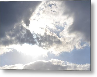 Metal Print featuring the photograph Sunshine Through The Clouds by Tara Potts