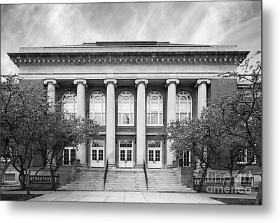 Suny Cortland Old Main Metal Print by University Icons