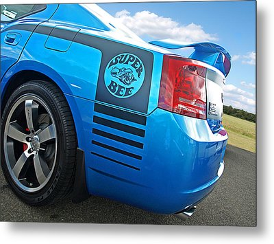 Super Bee Dodge Charger Srt8 Metal Print by Gill Billington