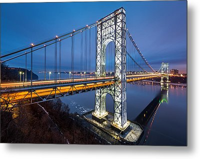 Super Bowl Gwb Metal Print by Mihai Andritoiu