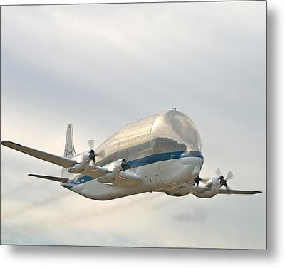 Super Guppy Metal Print