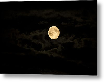 Super Moon Metal Print by Spikey Mouse Photography