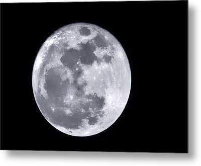 Super Moon Over Arizona  Metal Print by Saija  Lehtonen