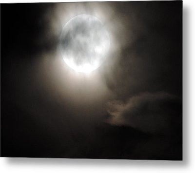 Super Moon Sunday Metal Print