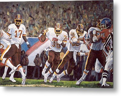 Superbowl Xii Metal Print by Donna Tucker