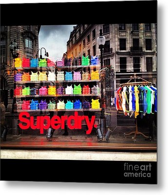 Superdry. Metal Print by Carly Athan