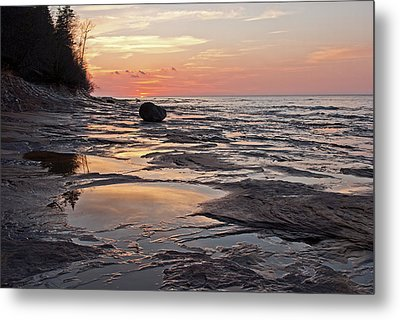 Superior Sunset  Metal Print