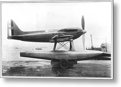 Supermarine S.6b Aircraft Metal Print by Science Photo Library