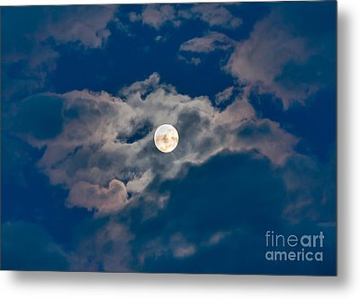 Supermoon Metal Print by Robert Bales
