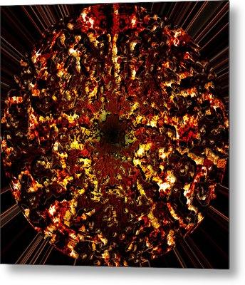 Supernova Metal Print by Christopher Gaston
