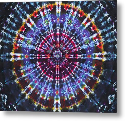 Supernova Metal Print by Courtenay Pollock