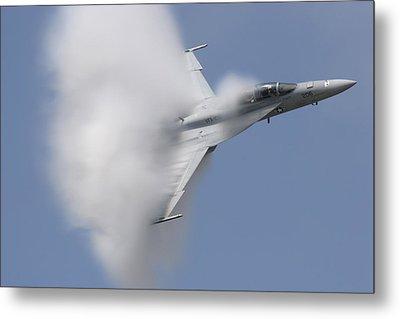 Supersonic Super Hornet Metal Print by John Clark