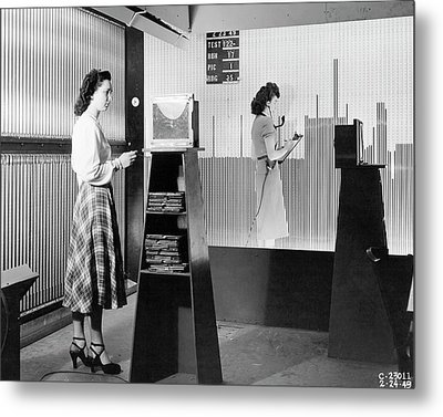 Supersonic Wind Tunnel Metal Print