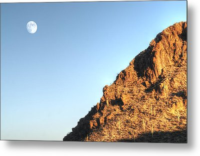 Metal Print featuring the photograph Superstition Mountain by Lynn Geoffroy
