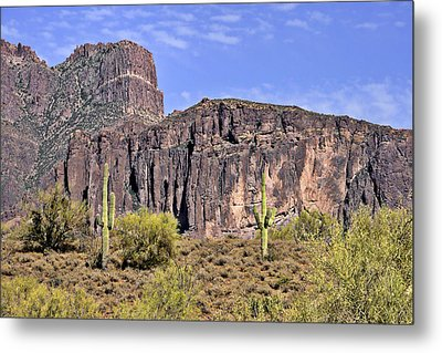 Superstition Wilderness Arizona Metal Print