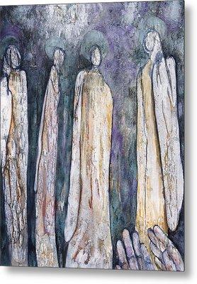Supplication Metal Print by Nancy Smith