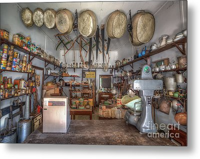 Supplies Metal Print by Shannon Rogers