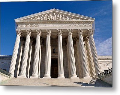 Supreme Court Of United States Of America Metal Print