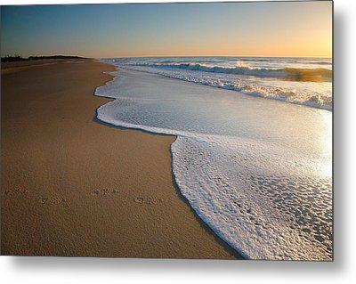 Surf And Sand Metal Print
