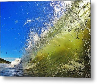 Surf Metal Print by Nicklas Gustafsson