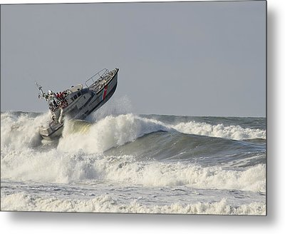 Surf Rescue Boat Metal Print