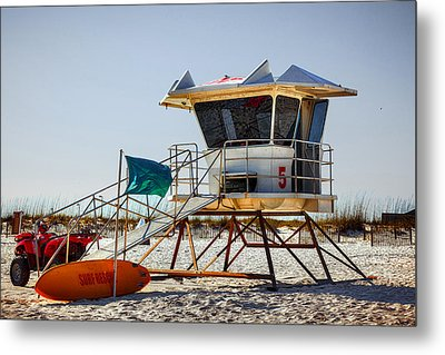 Surf Rescue Metal Print