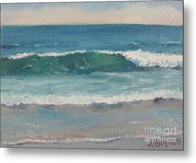 Surf Series 5 Metal Print by Jennifer Boswell