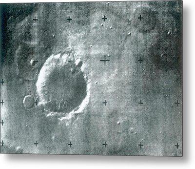 Surface Of Mars Metal Print by Detlev Van Ravenswaay