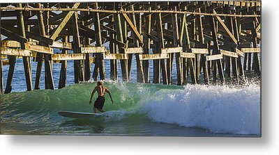 Surfer Dude 2 Metal Print by Scott Campbell