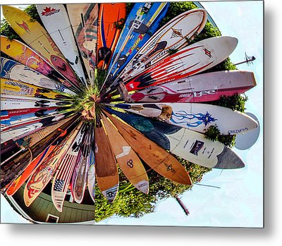 Metal Print featuring the photograph Surf's Up by Cathy Donohoue