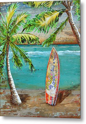 Surf's Up Metal Print by Danny Phillips