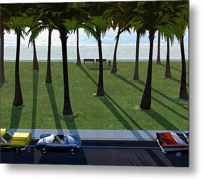Surfside Metal Print