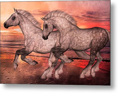 Surfsiders  Metal Print