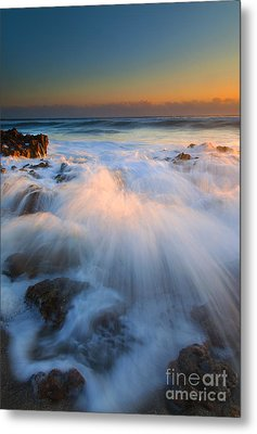 Surge Metal Print by Mike  Dawson