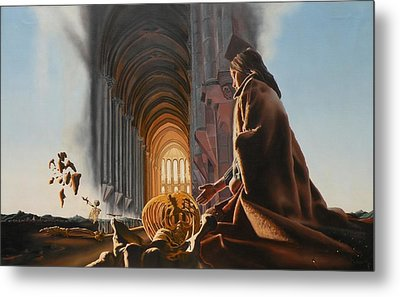 Surreal Cathedral Metal Print by Dave Martsolf
