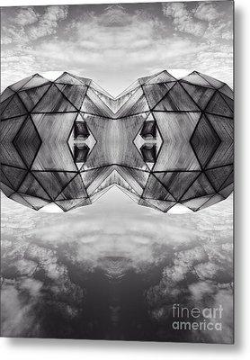 Surreal Landscape - Dwelling Metal Print