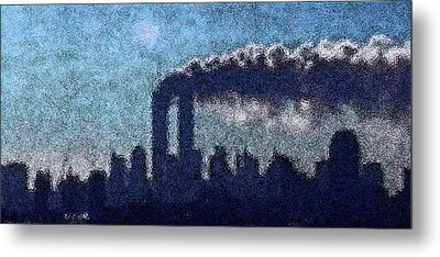Surreal Silhouette  Metal Print by James Kosior