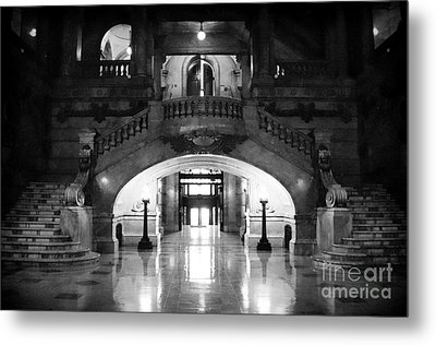 Surrogate's Court 1990s Metal Print by John Rizzuto
