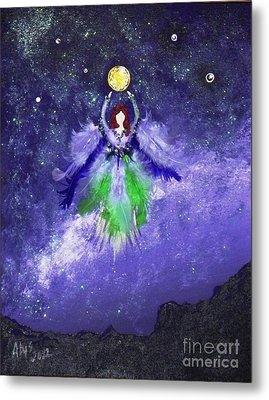 Metal Print featuring the painting Survivor by Alys Caviness-Gober