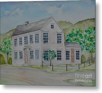 Susan B. Anthony Birthplace Metal Print by Sally Rice