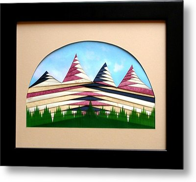 Metal Print featuring the mixed media Sushi by Ron Davidson