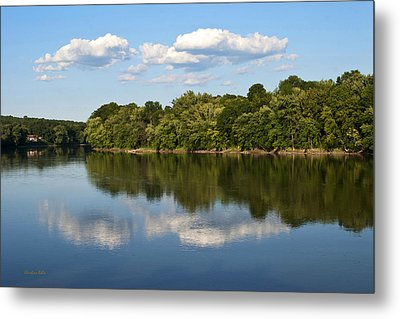 Susquehanna River Metal Print by Christina Rollo