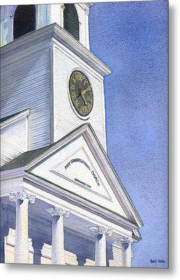Sutton Congregational Church Metal Print by Heidi Gallo