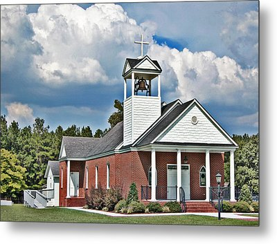 Suttons United Methodist Metal Print by Linda Brown