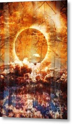 Swamp Moon Metal Print