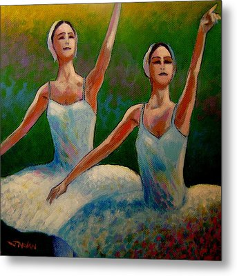 Swan Lake II Metal Print