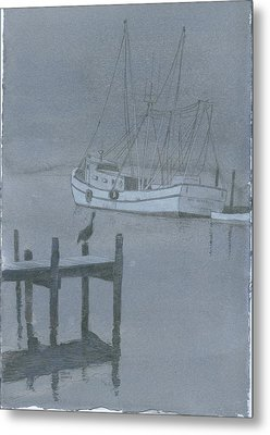 Swansboro Mist Metal Print by David Norris